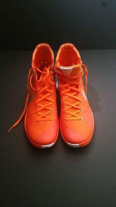 on sale 539ef 2fa9f Nike Hyperdunk 2015 TB Men s Basketball Shoes Size 17.5, 16  Orange Silver White