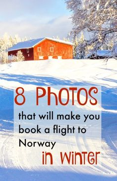8 photos that will make you book a flight to Norway - in winter! If you love snowy landscapes and mountains, then this is where you need to go.