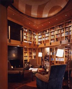 Central Coast House and Library - modern - media room - san francisco - Karin Payson architecture + design