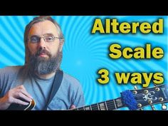 Altered Scale in three approaches - Jazz Guitar lesson - YouTube