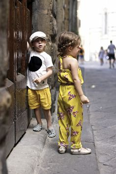 Yellow | Vivi & Oli-Baby Fashion Life