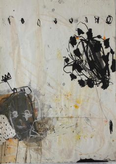 """Kevin A. Rausch, """"A Star Is Born"""", mixed media on paper"""
