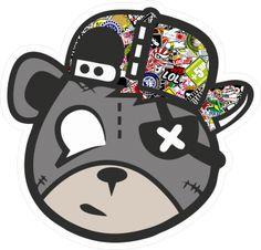 JDM Panda Sticker Bomb decal vinyl sticker by ...