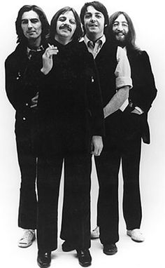 Four of the Coolest Guys who ever lived.George Harrison, Ringo Starr, Paul McCartney, and John Lennon. The Beatles. The fact that they existed, individually and as a group has made a lot of lives really great. Ringo Starr, George Harrison, Stuart Sutcliffe, Paul Mccartney, John Lennon, Music Film, My Music, Great Bands, Cool Bands