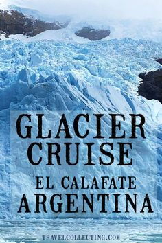 The all glaciers tour El Calafate to Upsala Glacier and Spegazzini Glacier on Lago Argentino. See ice bergs and glaciers in Patagonia. Travel Jobs, Ways To Travel, Best Places To Travel, Travel Things, Travel Advice, Travel Ideas, Travel Inspiration, European City Breaks, 7 Places