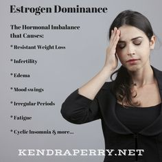 you have estrogen dominance? This imbalance can lead to fatigue, weight gain, insomnia, infertility, edema and mood swings. Find out how to fix it. Low Progesterone Symptoms, Progesterone Deficiency, Hormone Imbalance Symptoms, Progesterone Cream, Hormone Diet, Information Diet, Déséquilibre Hormonal, Too Much Estrogen, Foods To Balance Hormones