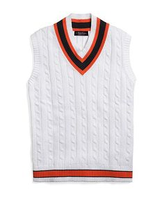 Polo Ralph Lauren Men Tennis V-Neck Sweater VEST | Mens Sweaters ...