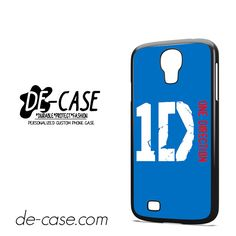 One Direction Blue Logo For Samsung Galaxy S4 Case Phone Case Gift Present YO