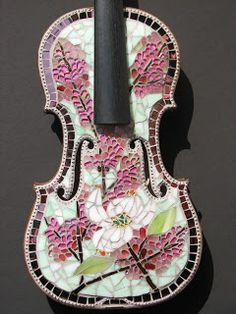 Piece Of Mind Mosaics: The Painted Violin Project
