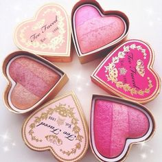 Too Faced blushes are so beautiful