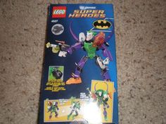 Brand New LEGO~DC UNIVERSE~THE JOKER~SUPER HERO BUILDING TOY..free shipping