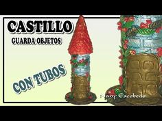 CASTILLO GUARDA OBJETOS CON TUBOS - YouTube
