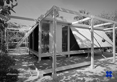 Walker Guest House. 1952. Sanibel Island, Florida. Paul Rudolph