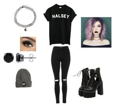 """Halsey "" by queenbry12903 ❤ liked on Polyvore featuring Topshop, WithChic, BERRICLE and Accessorize"
