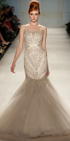 PAVONI SPRING/SUMMER 2013. *GORGEOUS-the beading is so detailed and sparkley!