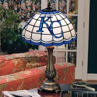 KC Royals Lamp.....need this right by my family KC pic!