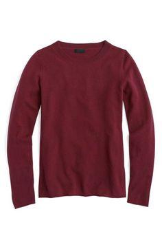 J.CREW Long Sleeve Italian Cashmere Sweater. #j.crew #cloth #