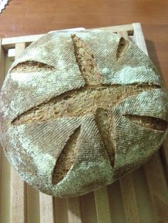Pane con tutto il grano con #lievitomadre