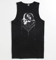 Click Image Above To Buy: Mens Metal Mulisha Tee - Metal Mulisha Ink Logo Tank