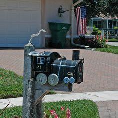 Train Mailbox!