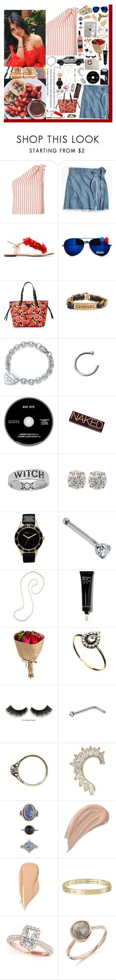 """""""Mama said I never should have done it, should have ended us before we ever started.❤️"""" by loretta-mccoy ❤ liked on Polyvore featuring Rosie Assoulin, Madewell, Charlotte Olympia, Dooney & Bourke, Chanel, Tiffany & Co., Urban Decay, Marc by Marc Jacobs, Gabrielle Sanchez and Bobbi Brown Cosmetics"""