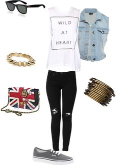 """""""Wild at heart"""" by face-the-music ❤ liked on Polyvore"""