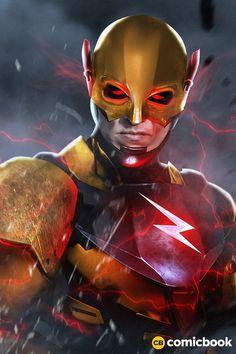 THE FLASH: Incredible JUSTICE LEAGUE Fan-Art Brings Ezra Miller's Scarlet Speedster To Life