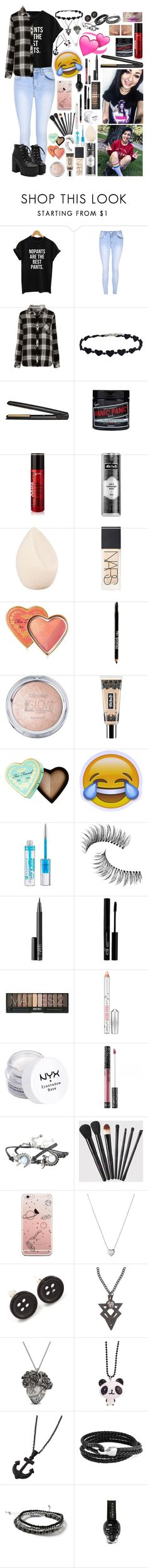 """HeyThereImShannon ~16~"" by i-am-the-one-and-only ❤ liked on Polyvore featuring Glamorous, Rails, GHD, Manic Panic NYC, Kat Von D, Christian Dior, NARS Cosmetics, Too Faced Cosmetics, Lord & Taylor and Essence"