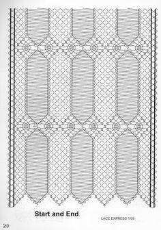 Risultati immagini per chal de bolillos patrones Pattern Texture, Bobbin Lacemaking, Bobbin Lace Patterns, Lace Heart, Lace Jewelry, Needle Lace, Lace Making, Lace Detail, Tatting