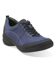 Look what I found on #zulily! Navy InMotion Drive Leather Sneaker #zulilyfinds
