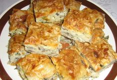 Romanian Food, Pastry And Bakery, Veggie Dishes, Spanakopita, Quiche, Foodies, Veggies, Food And Drink, Breakfast