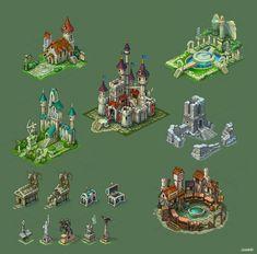Buildings for game 4 by Jonik9i.deviantart.com