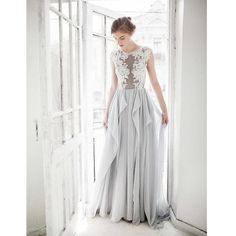 A Line Silver Applique Long Elegant Formal Prom Dress, BG51487 The dress is fully lined, 4 bones in the bodice, chest pad in the bust, lace up back or zipper back are all available, total 126 colors a