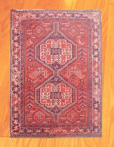 New Arrival Vintage Hand Knotted Persian Qashqai Wool Area Rug 5 x 3 (294)