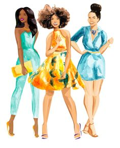 Debra Cartwright is a Harlem-based watercolor artist influenced by the fashion and beauty images that dominate the media landscape. As an artist, Debra seeks to combine her love for conversation, expression, and minimalism in all her projects. debracartwright.com