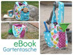 eBook Gartentasche von Keko-Kreativ Für Pflanzen, Kräuter, Spielsachen, Sandkastenspielzeug, Wolle, Strick- und Häkelzubehör usw.