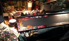 Paintin' my shelf...