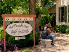 We enjoyed a light lunch at the Peach Tree Restaurant & Tea Room in Fredericksburg, TX.