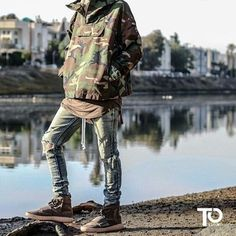 Via @streetwearde ________________________________________________ Top: fog Tank: represent Jeans: prodound Shoes: yeezy boost 750 ________________________________________________ Trillest outfit by @mattks