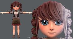 Base GirlV03 Clothing V01 | 3D model 3d Character, Character Design, 3d Animation, Princess Zelda, Base, 3d Modeling, Clothing, Outfits, Outfit Posts