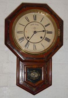 E Ingraham School Room Wall Clocks