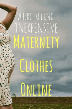 Making Babies: Where to Buy Cute and (semi) Inexpensive Maternity Clothes Online #cutematernityclothes