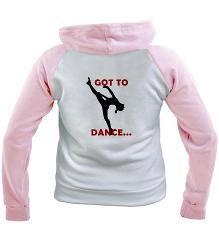 Dance / Gymnastics Hoodie...  at www.GymnasticsTees.com