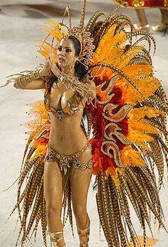 nude samba model brazilian