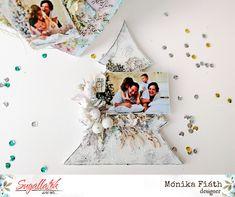 Karácsonyi forma-dekor - punkrose.hu Altered Art, Scrap, Canvas, Christmas, Glamour, Winter, Home Decor, Shapes, Yule
