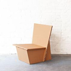 cardboard lounge chair - STANGE DESIGN, Berlin