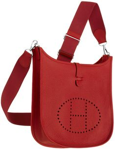 The Hermes Evelyne III Bag is not as famous as the Birkin and it doesn't have the same price tag, but we are seeing an increase of fashionista's and celebrities carrying this bag in their casual ti…