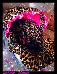 leopard print baby car seat covers | Infant Car Seat Cover for Baby ...