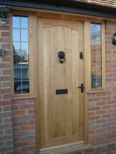UV-Protection Oil applied to an oak door in England