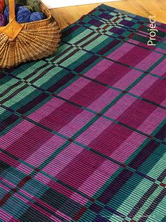 Rosalie presented at my guild, Frances Irwin Handweavers about 3 years ago. Lucky me! Gemstone Warp Rep Rug - Magazine article by Rosalie Neilson